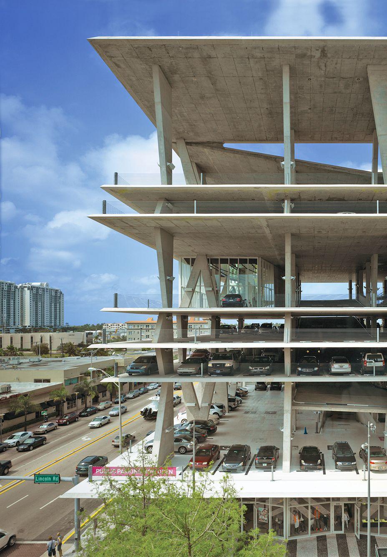 1111 Lincoln Road Parking Garage Herzog De Meuron Ideasgn Parking Lot Architecture Architecture Parking Building