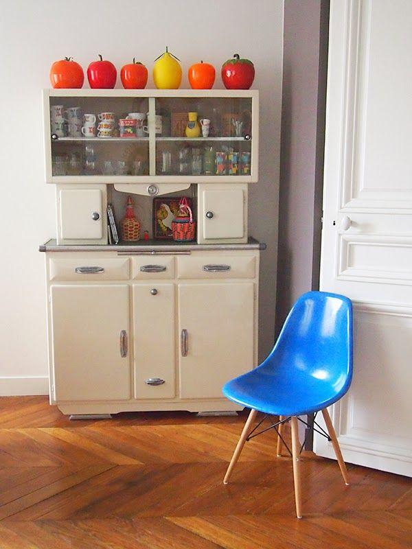 seau_glac¦ºons Idées pour la maison Pinterest Buffet, Vintage