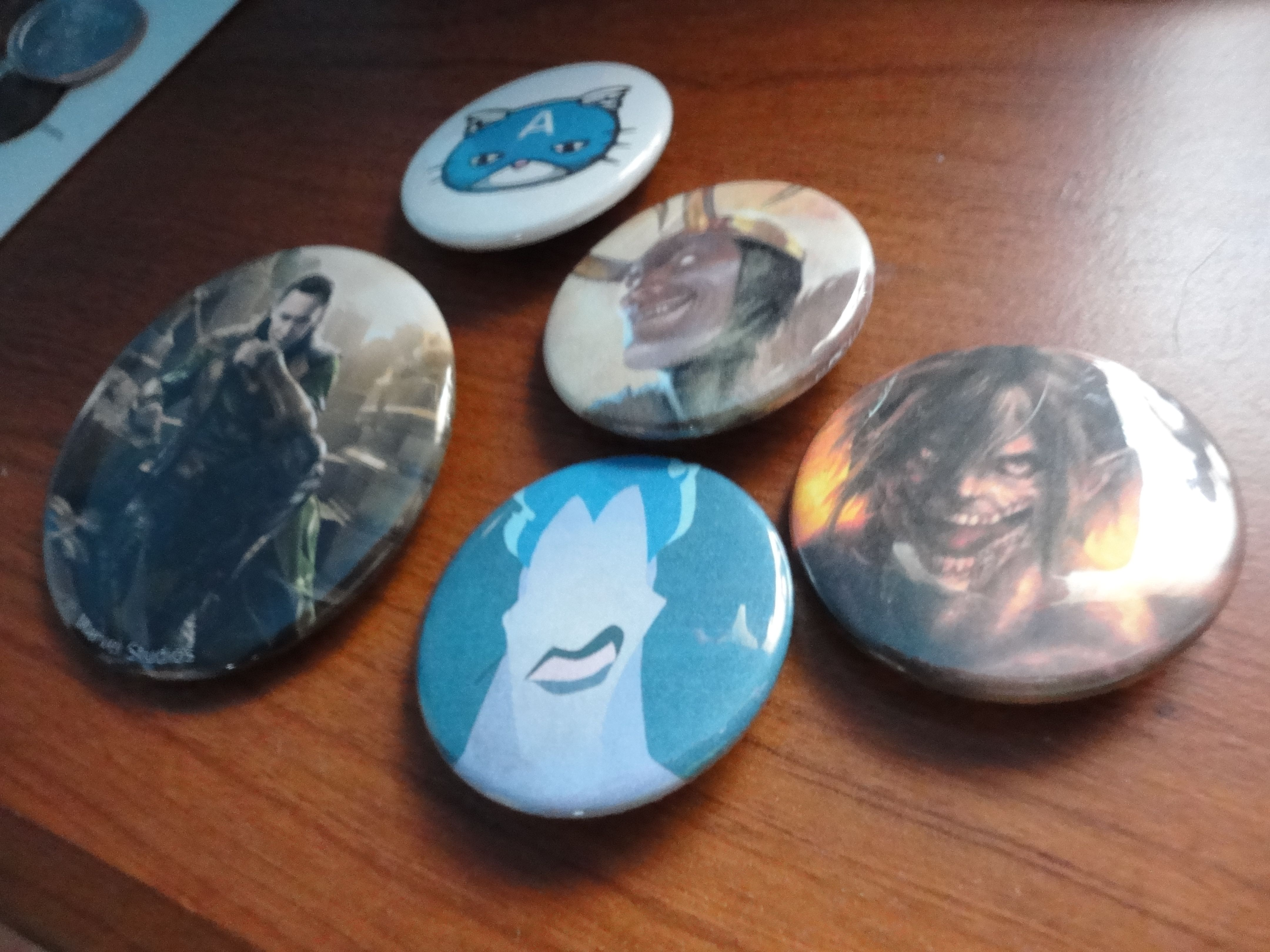 Buttons I got at Anime Blast =3