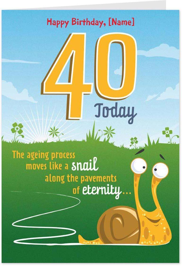 ecards funny birthday 40th birthday cards, Birthday