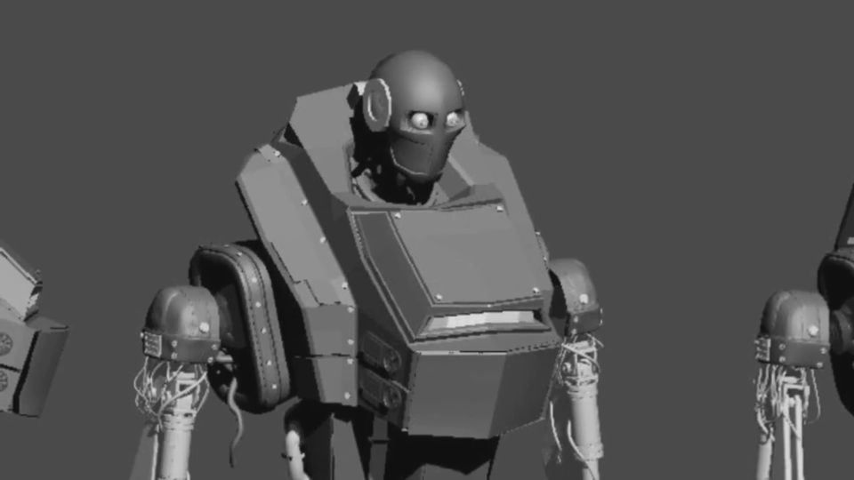 Making of How to train your robotComputer Graphics & Digital Art Community for Artist: Job, Tutorial, Art, Concept Art, Portfolio