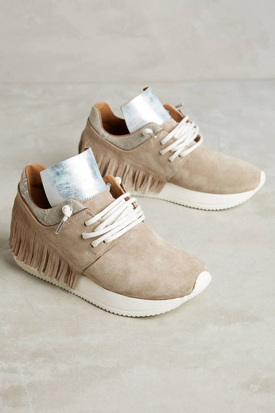 808cb2d73b Esse Ut Esse Fringe Sneakers | Shoes in 2019 | Shoes, Sneakers ...