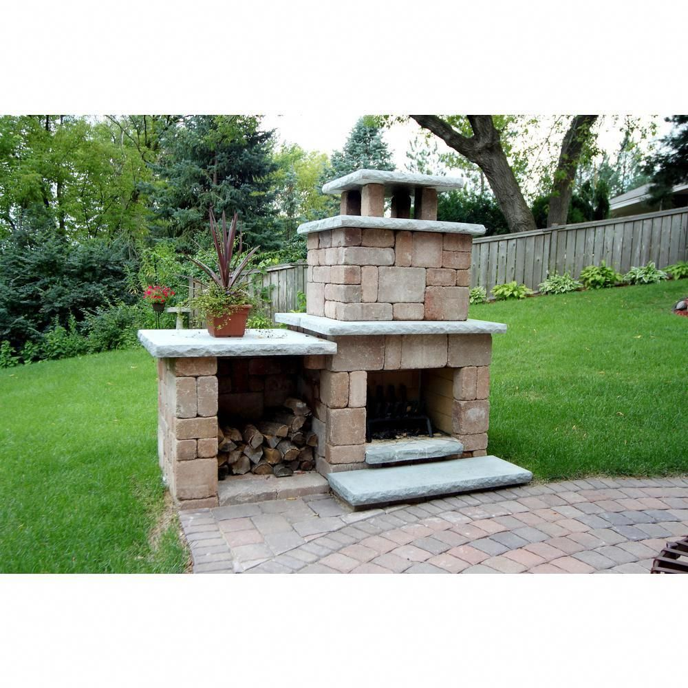 This Type Of Outdoor Fire Place Is A Very Inspiring And Perfect