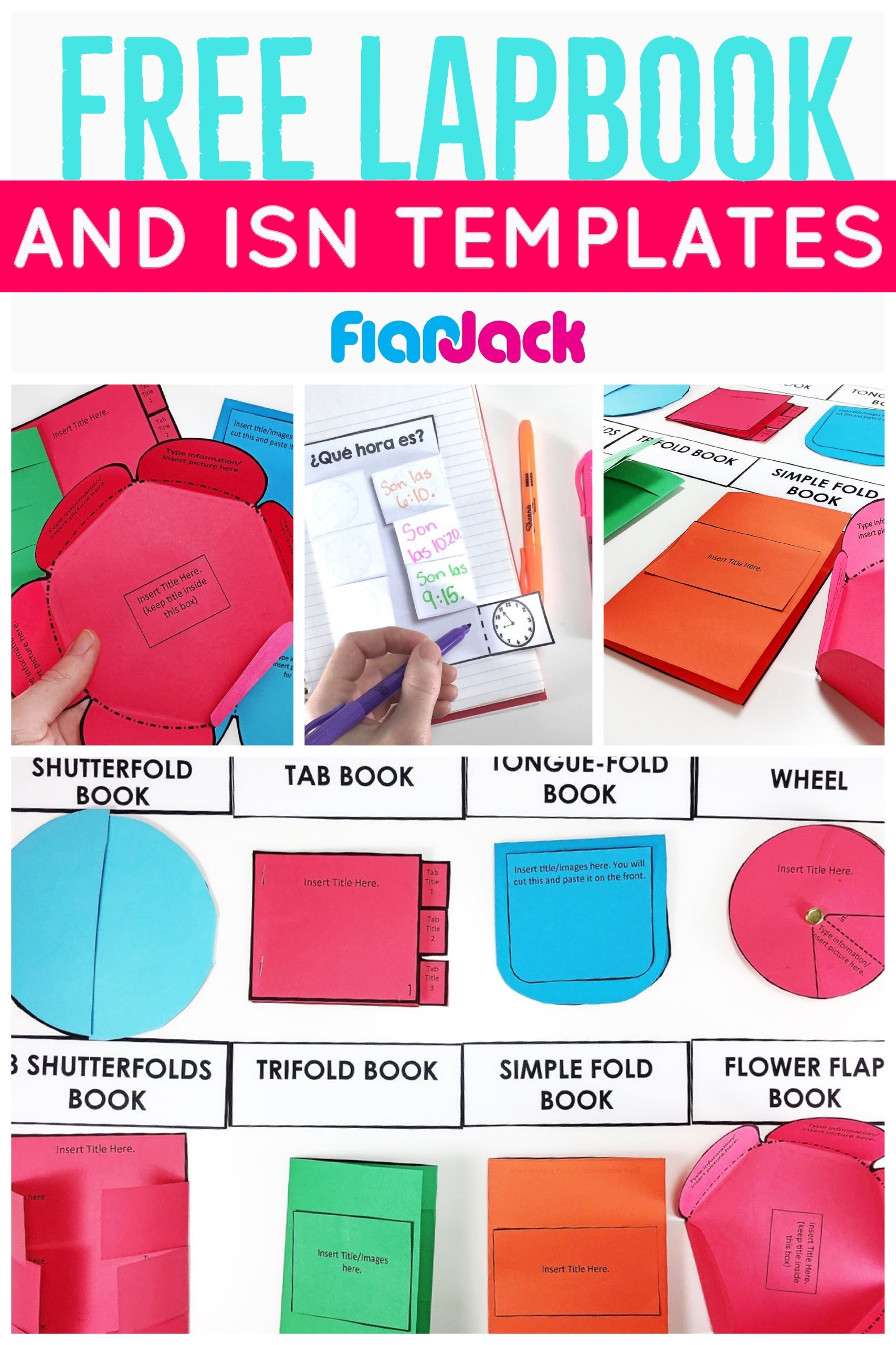 SO many options for creating lapbooks & interactive notebooks with ...