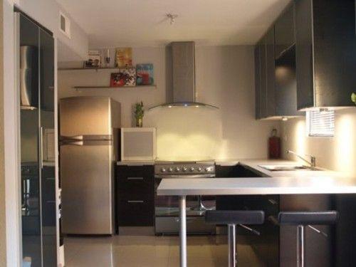 Dise os de cocinas peque as y modernas cocinas - Diseno de cocinas pequenas ...