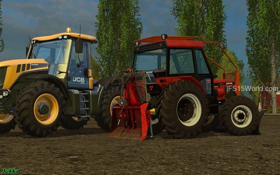 Zetor 7340: Forest Edition v2.0 - http://fs15world.com/tractors/zetor-7340-forest-edition-mod
