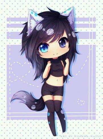 Cat Girl Anime Wolf Girl Cute Anime Chibi Kawaii Anime