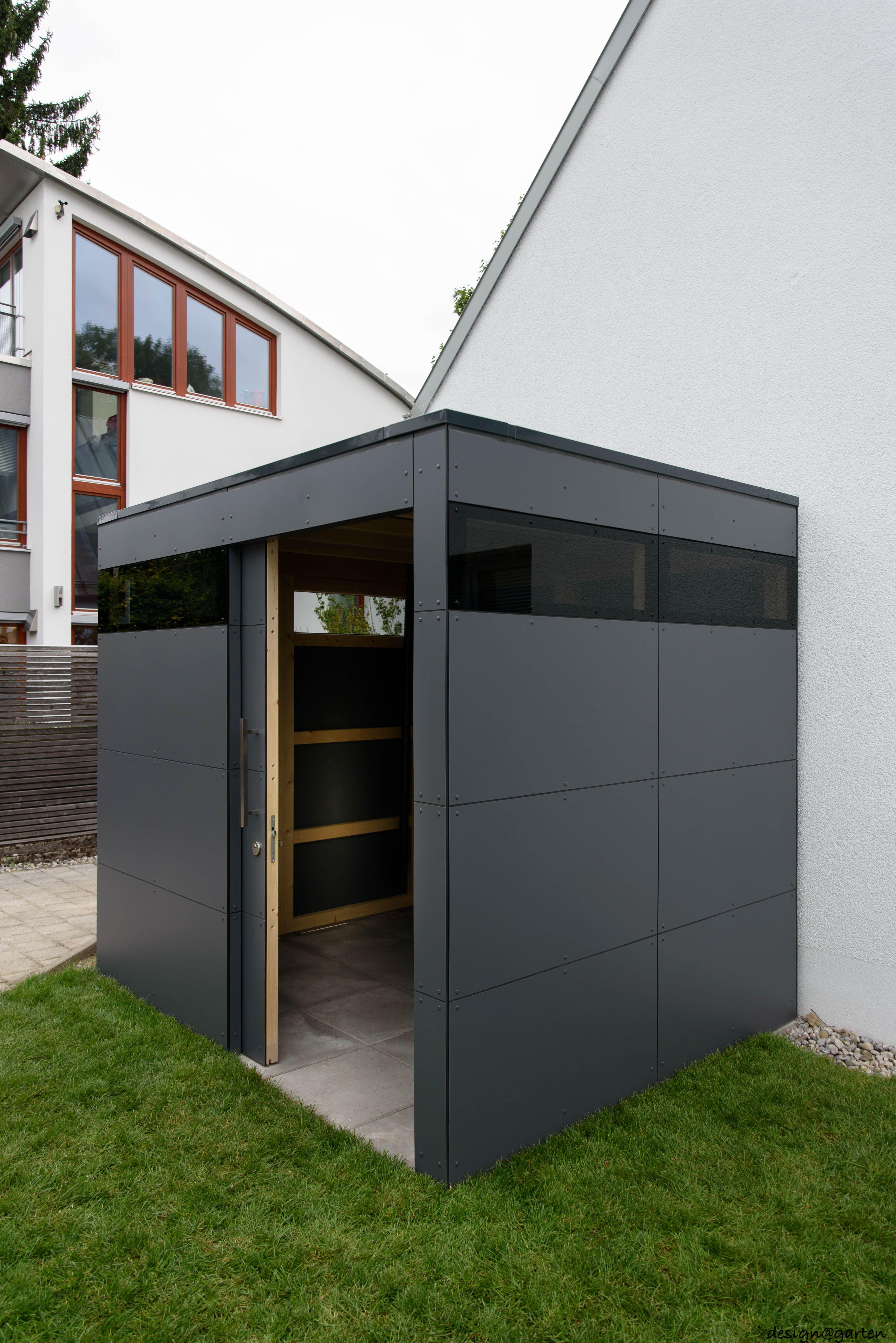 Designer Gartenhaus _gart in München by designgarten