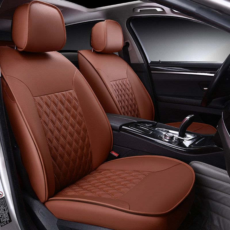Custom Made Leather Car Seat Cover For Ssangyong Korando Actyon Rexton Chairman Kyron Car Accessories Car St Leather Car Seat Covers Car Seats Hotrod Interior