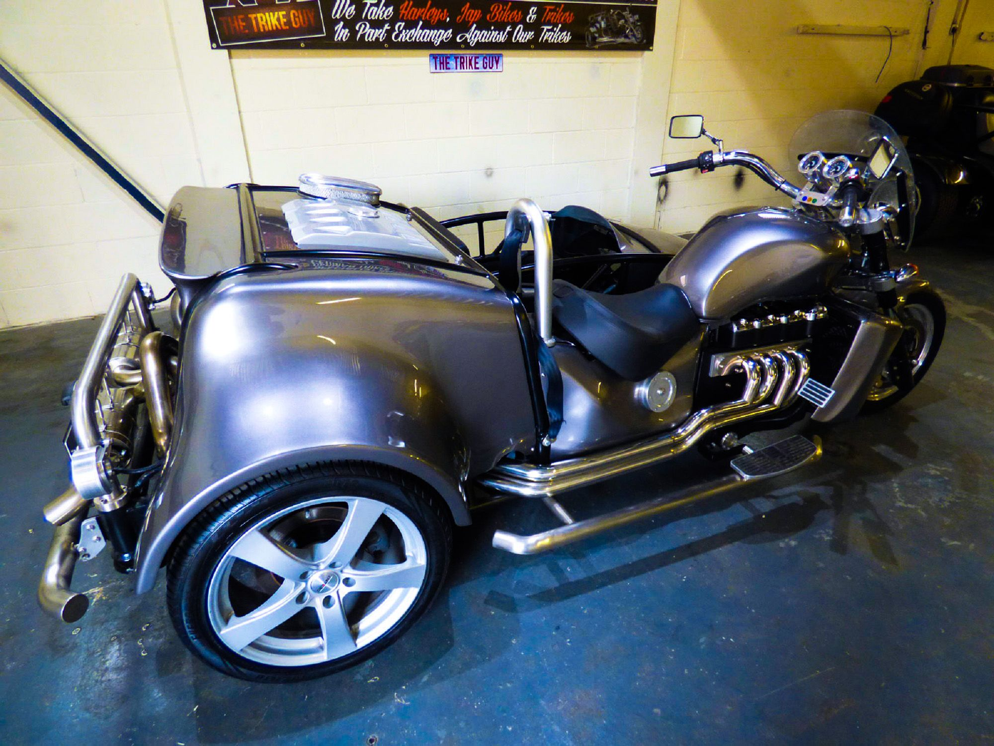 Cadillac V8 4.7 Litre Trike / Side Car, on eBay with Classified Ad ...