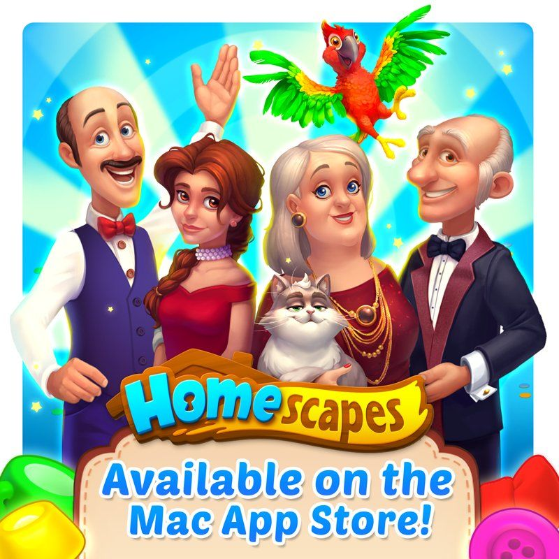 Great news, ladies and gentlemen! You can now play #Homescapes on Mac Get the game on the #MacAppStore: http://plrx.gs/2Fn3dDG https://twitter.com/homescapes/status/952562490830917632/photo/1