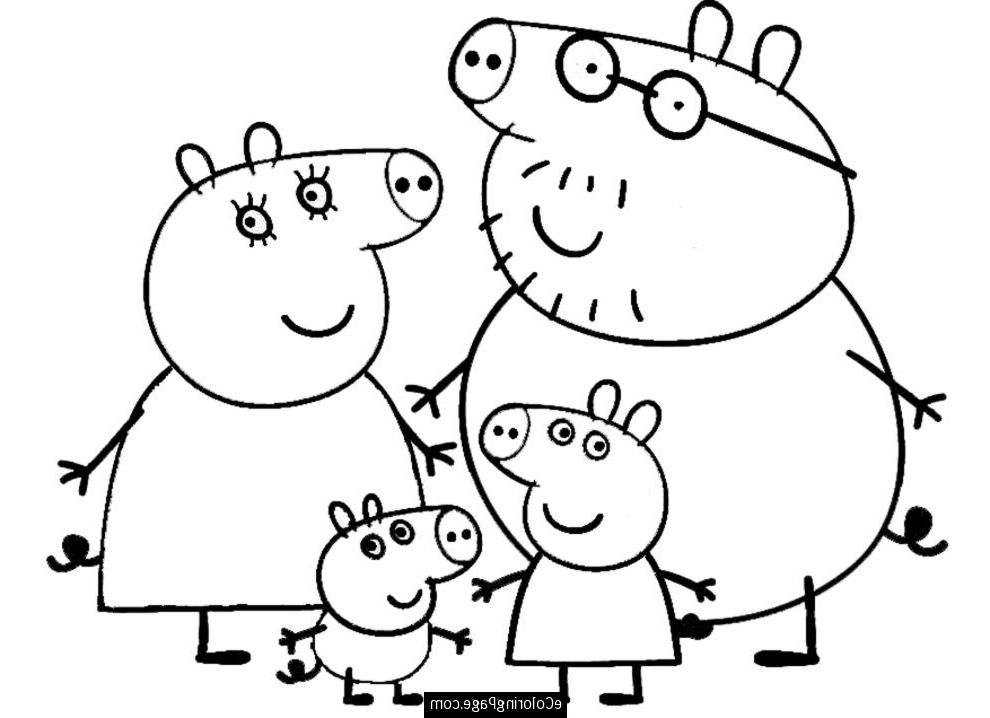 The Best peppa pig coloring page - http://coloring.alifiah.biz/the ...