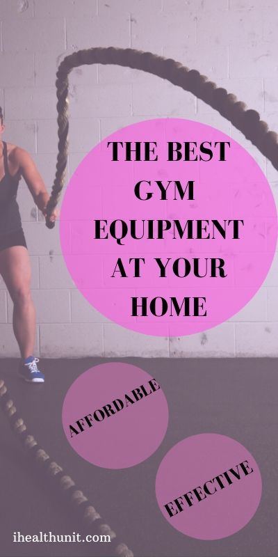 Top Gym Equipment At Your Home