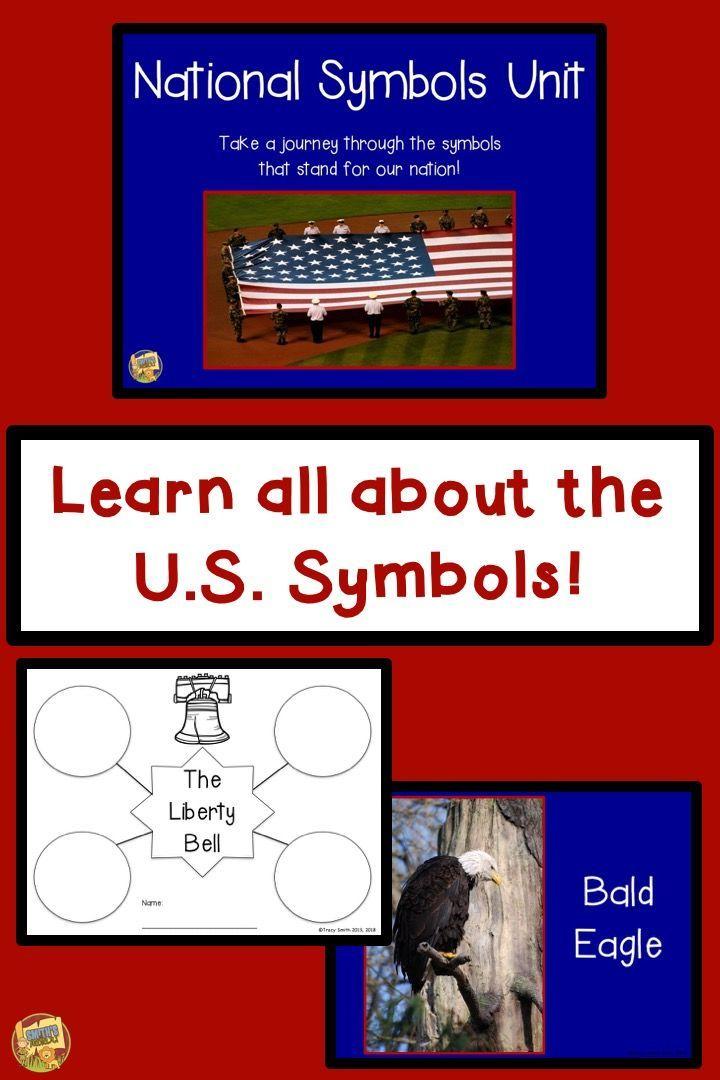 American National Symbols Unit 9 National Symbols Second Grade