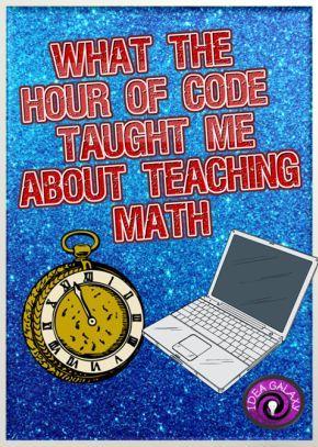 How hour of code made me a better math teacher.