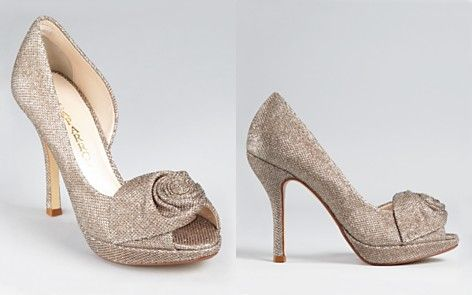 Champagne Wedding Shoes Photo Album - Weddings Pro