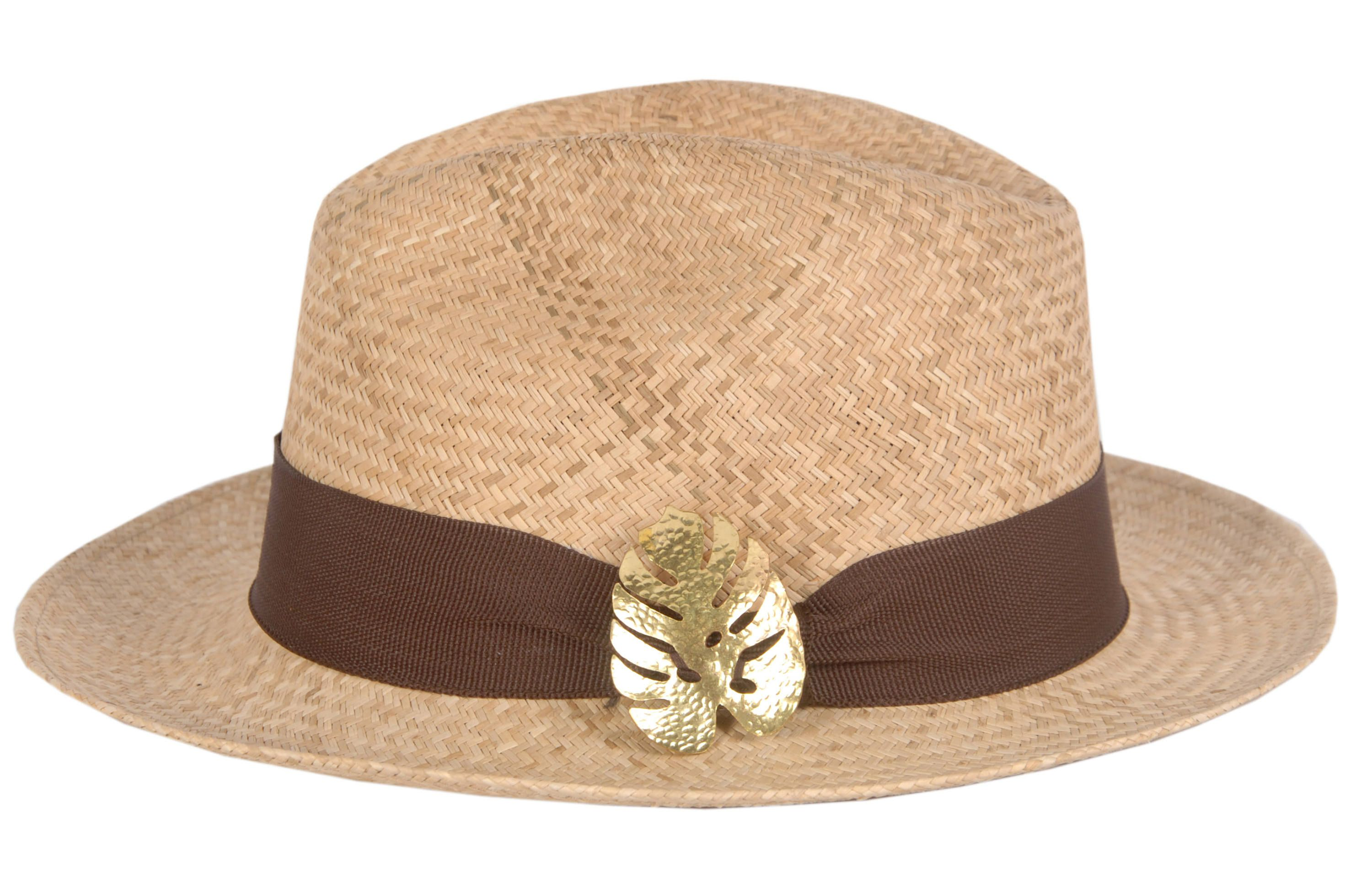 051bc82f074 Panama Hat - Classic - Hand Made - Iraca fiber palm - for women - With  Protection UPF50 +