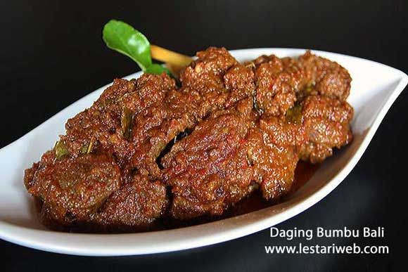 Balinese Spicy Beef Recipe From Indonesia Recipe Spicy Beef Beef Recipes Beef