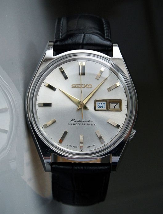 ADVENTURES IN AMATEUR WATCH FETTLING: A Minor Aristocrat - The Seikomatic 6218-8950