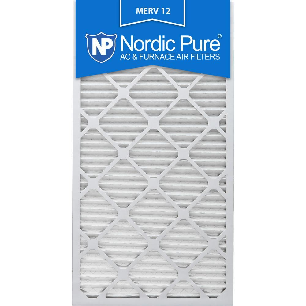 Nordic Pure 12 In X 30 In X 1 In Allergen Pleated Merv 12 Fpr 9 Air Filters 3 Pack Pure Products Furnace Filters Air Filter