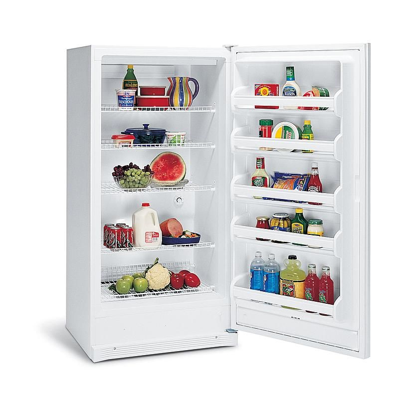 Frigidaire Fru17b2jw 16 7 Cu Ft Freezerless Refrigerator Sears Outlet Can Keep In Garage Freezerless Refrigerator All Refrigerator Refrigerator