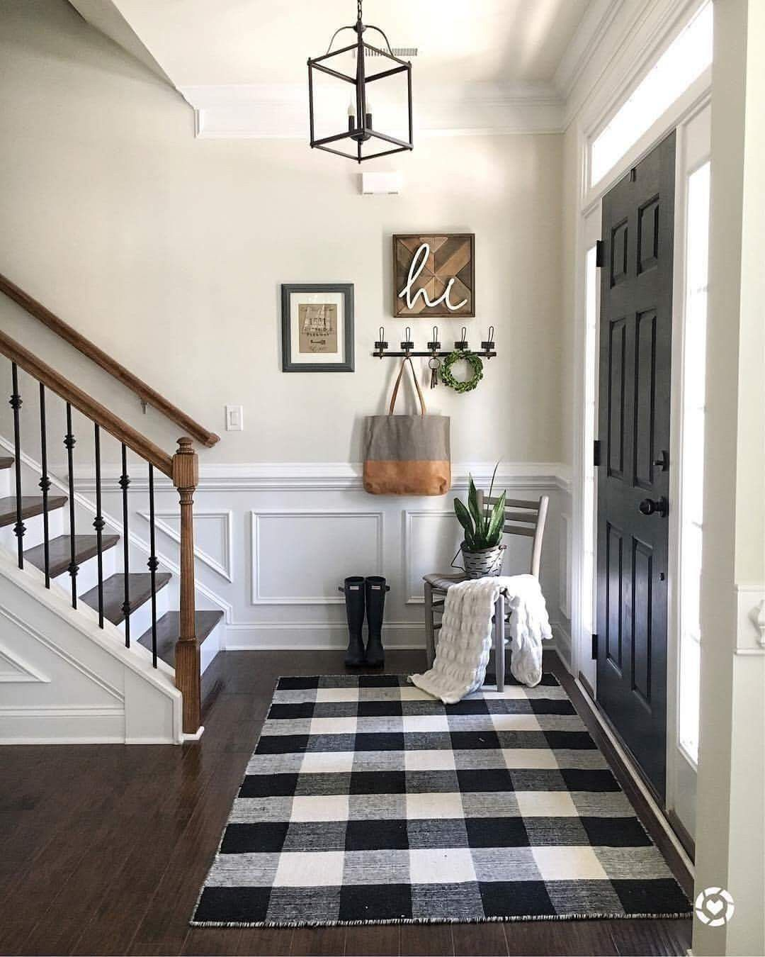 On Facebook's Farmhouse is my Style Like for my foyer