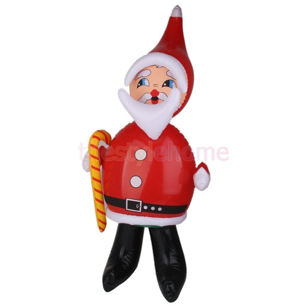 Inflatable Santa Blow Up Christmas Decorations Santa Claus Toy ...
