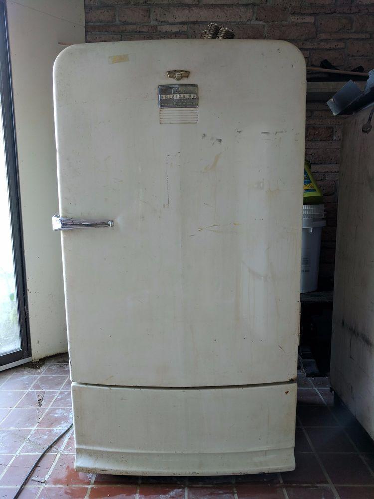 1948 Vintage Refrigerator Frigidaire By General Motors Gm