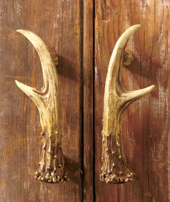 Antler Decor Set Light Switch Outlet Handle Knob Cabin