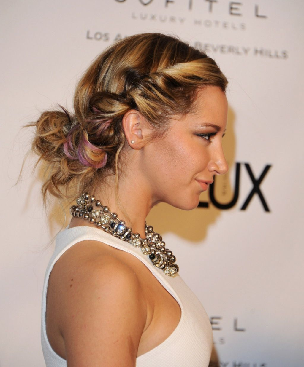 Cute Braided Hairstyles: Ashley Tisdale Hair