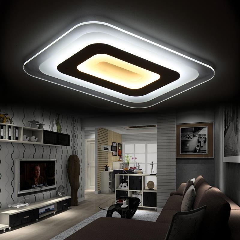110v 220v Led Ceiling Light Luces Led Para Casas Lustre Lamparas De - Luces-led-para-casa