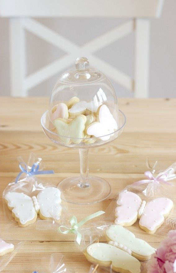 butterfly cookies by petite homemade