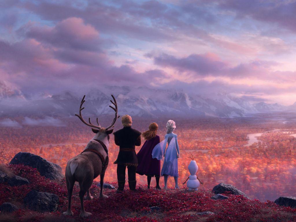 Frozen 2, animation movie, 2019 movie wallpaper, hd image