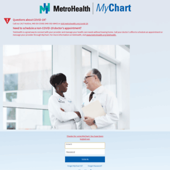 Metrohealth Cleveland Mychart In 2020 Grand Rapids Mi Grand Rapids Chart