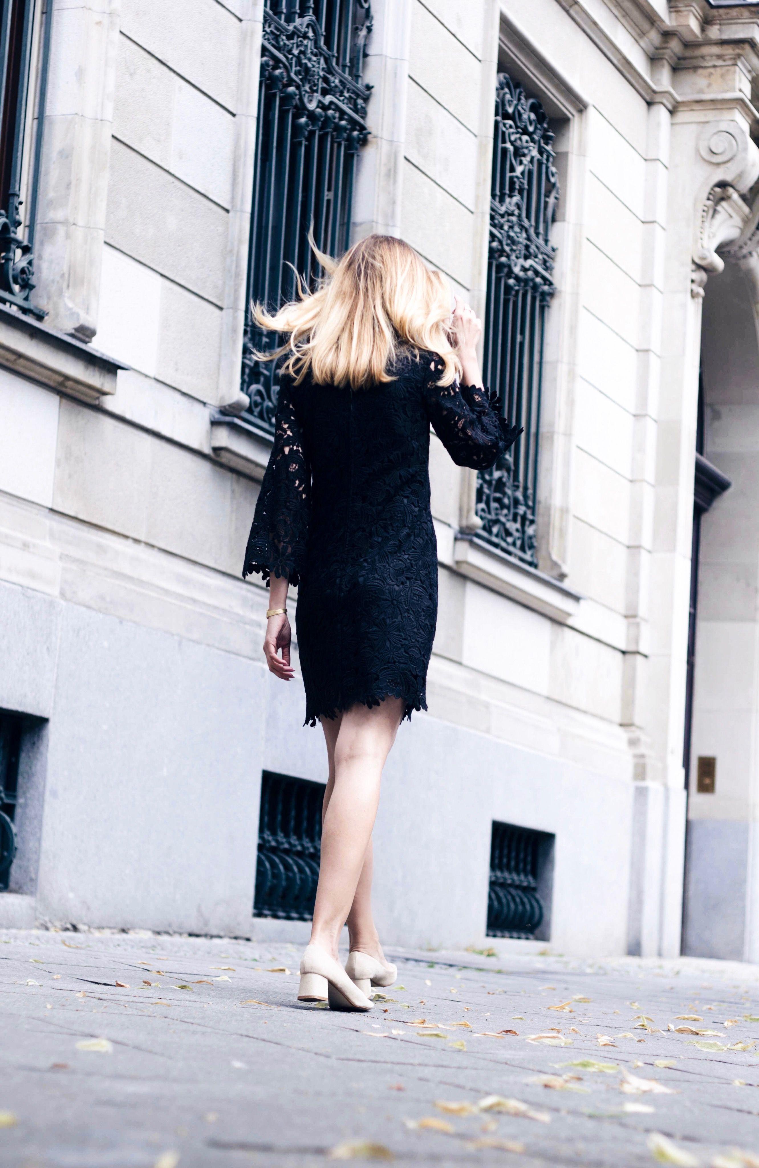 ea952974b0c OOTD - black crochet dress from & other stories. www.louisa-maureen ...