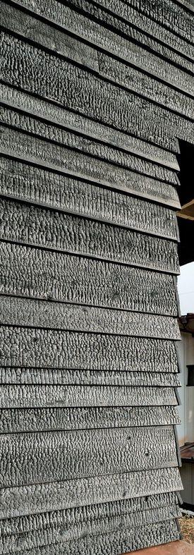 charred cedar cladding seidenholz inspiration pinterest fassade holz holz und. Black Bedroom Furniture Sets. Home Design Ideas