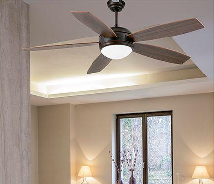 Ventilador de techo con luz faro vanu leroy merlin my for Leroy merlin ventiladores