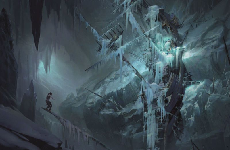 The Concept Art Behind Rise Of The Tomb Raider Tomb Raider Art