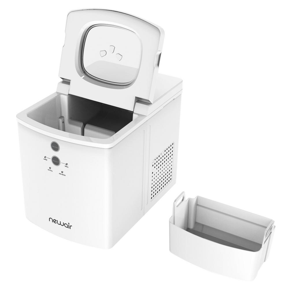 Newair 33 Lb Portable Countertop Ice Maker Machine In White