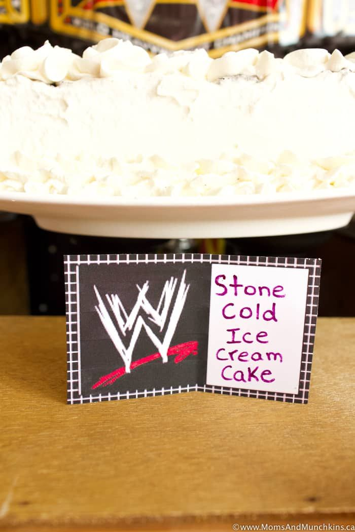 WWE Birthday Party Ideas for Kids - Moms & Munchkins