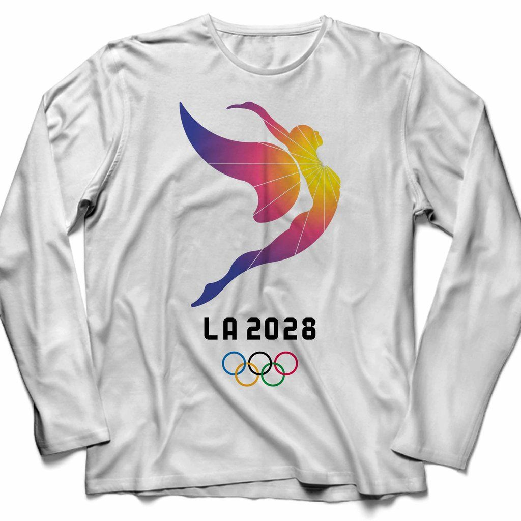 La 2028 Olympic Logo Unisex Long Sleeve TShirt Tee in