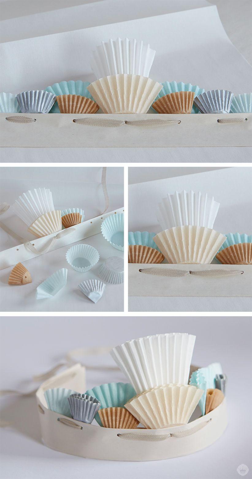 Cupcake paper crafts cupcake paper crafts cupcake garland and cupcake paper crafts jeuxipadfo Gallery