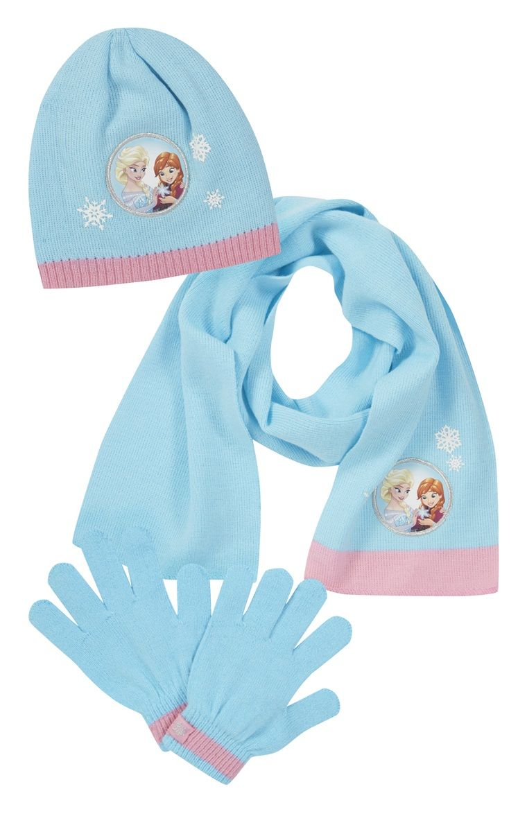 fa23d2e3476 Primark - Frozen Hat Gloves And Scarf Set