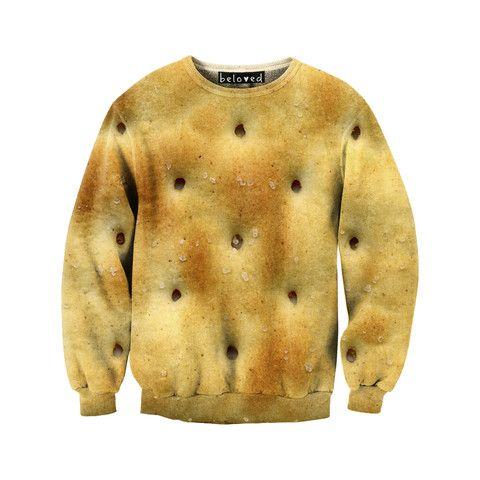 Crackers Sweatshirt///Beloved Shirts