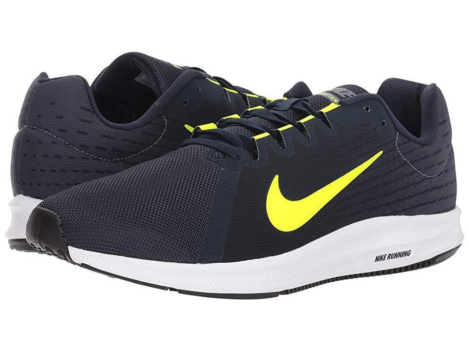0042312e9a023 Nike Downshifter 8 (Light Carbon Volt Obsidian Black) Men s Running Shoes