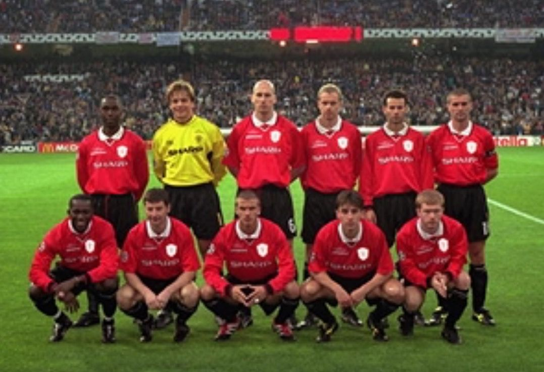 Real Madrid 2000 Manchester United Players Manchester United Team Manchester United
