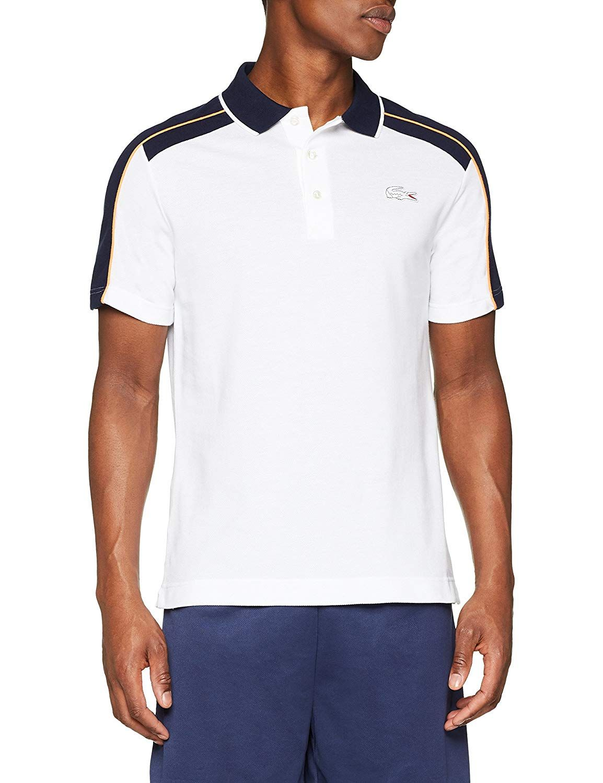 fcb59064 Lacoste Men's Polo Shirt: Amazon.co.uk: Clothing | Men polo ...