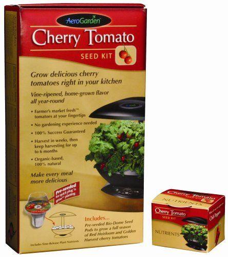 Aerogarden 0002 00Z Cherry Tomato Seed Kit By Aerogrow 400 x 300