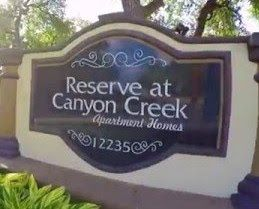 Reserve At Canyon Creek Apartments San Antonio TX Reviews Features ...