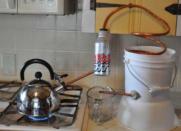 Pressure Cooker Distiller ~ Tea kettle essential oil distiller yard sale essentials